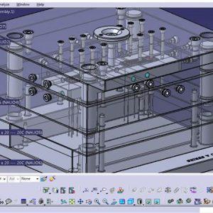 طراحی قالب تزریق پلاستیک با CATIA
