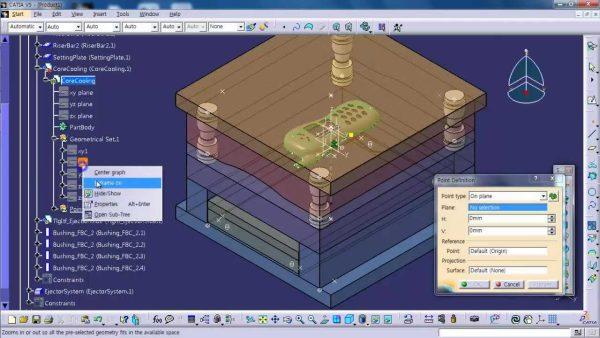 طراحی قالب با نرم افزار CATIA