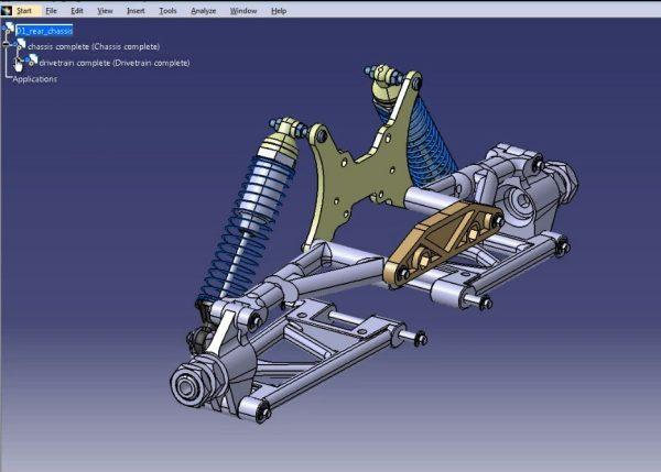 طراحی مهندسی مقدماتی با CATIA