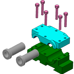 Inventor Part & Assembly Sample 1