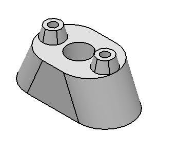 محیط Part Design در CATIA